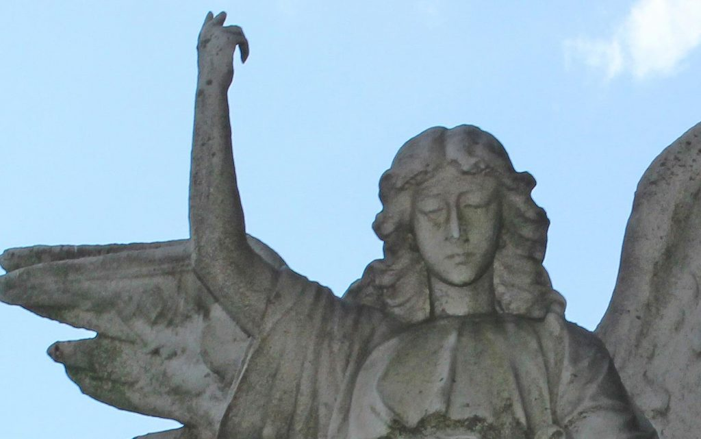 Mount Peasant cemetary angel