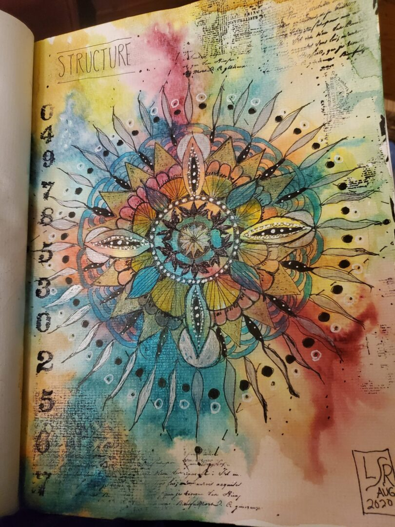 mandala image L Rogers
